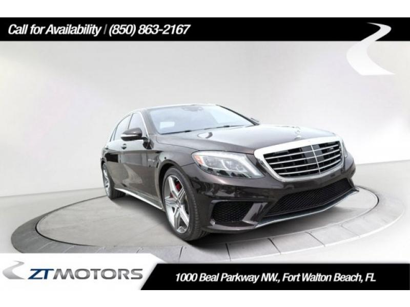Pre-Owned 2016 Mercedes-Benz S-Class AMG® S 63 4MATIC®