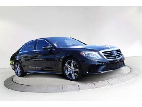 Certified Pre-Owned 2015 Mercedes-Benz S-Class AMG® S 63 4MATIC®