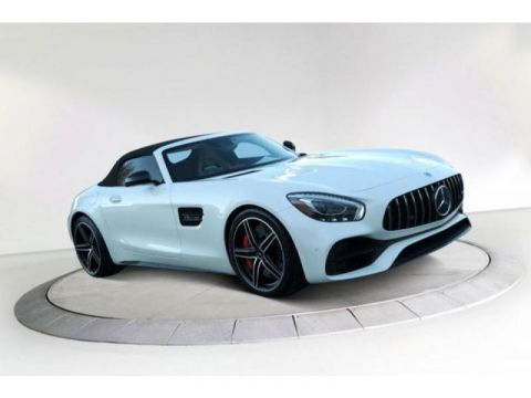 Certified Pre-Owned 2018 Mercedes-Benz GT AMG® GT C Roadster